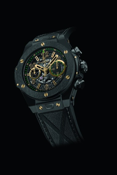 Hublot Big Bang UNICO Usain Bolt all black fuite