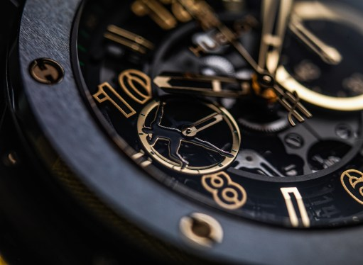 Hublot Big Bang UNICO Usain Bolt détail cadran