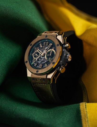 Hublot Big Bang UNICO Usain Bolt yellow gold PR