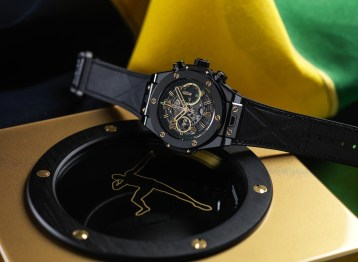 Hublot Big Bang UNICO Usain Bolt ceramique noire