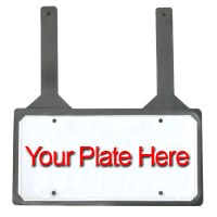 Rubber License Plate Holder
