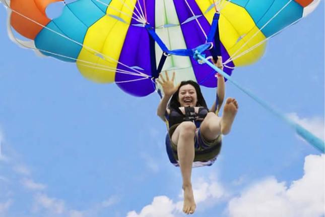 parasailing tanjung benoa bali