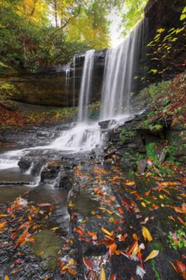 Fall Pictures Free Wallpaper Devil Creek Falls In Cumberland Cove Tennessee