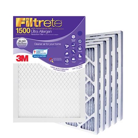 16x24x1 Filtrete Ultra Allergen Air Filter 1575x2375x