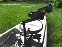 Install a Kayak Rod Holder