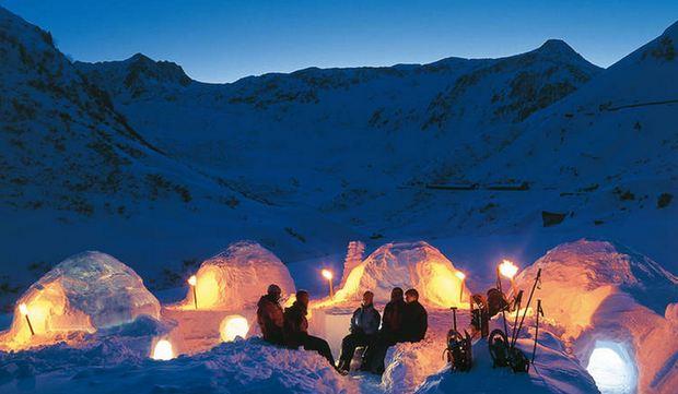 Le case fatte di neve e ghiaccio: igloo e popolazioni Inuit