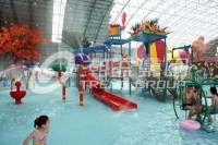 Hotel Kids' Water Playground Indoor Waterparks with ...