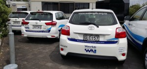 WAI's more cost effective vehicles, sponsored by Toyota Financial Services and local partner Auckland City Toyota.
