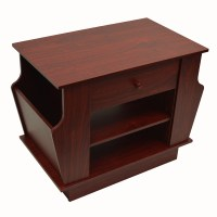 COMPANION - Storage Side / End Table with Magazine Rack ...