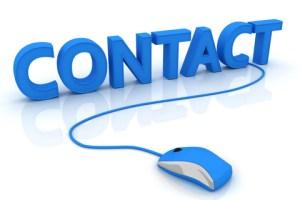 Prise de contact