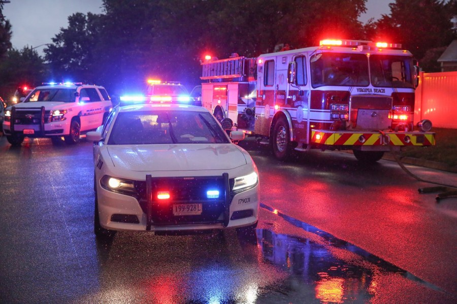 2 People Sent To The Hospital After Vehicle Collision In Virginia Beach Wavy
