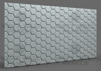 T8006 Honeycomb R2 MDF Wall Panel