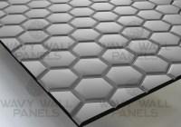 T8006 Honeycomb R1 MDF Wall Panel