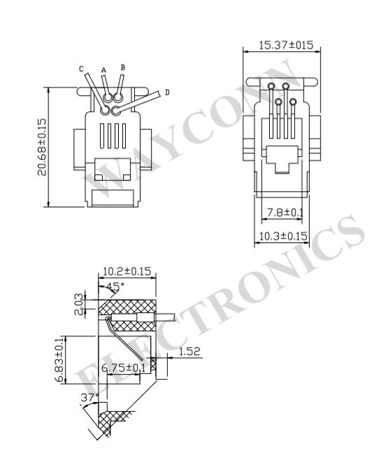 rj45 cat5e wiring diagram