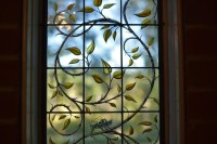 Wayne Cain  Painted Stained Glass VineCrewe, VA