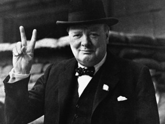 Churchill says change.