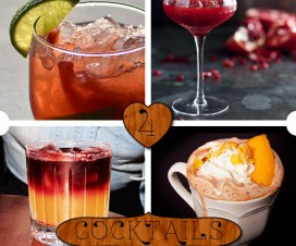 4 Valentines Day Cocktail Recipes