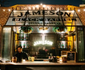 Movember with Jameson Black Barrel