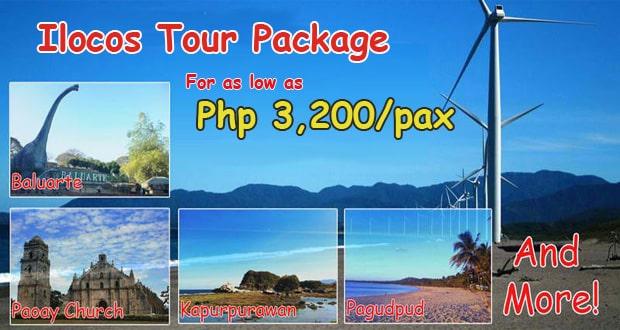 Ilocos Tour 3300