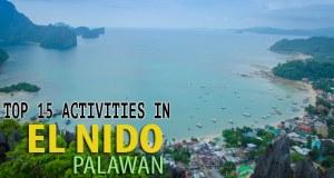 Activities in El Nido
