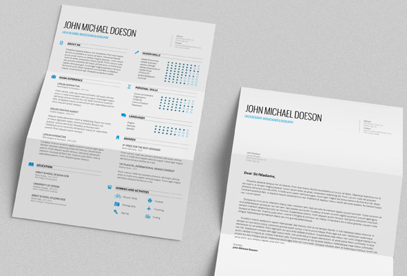 nulled cv template
