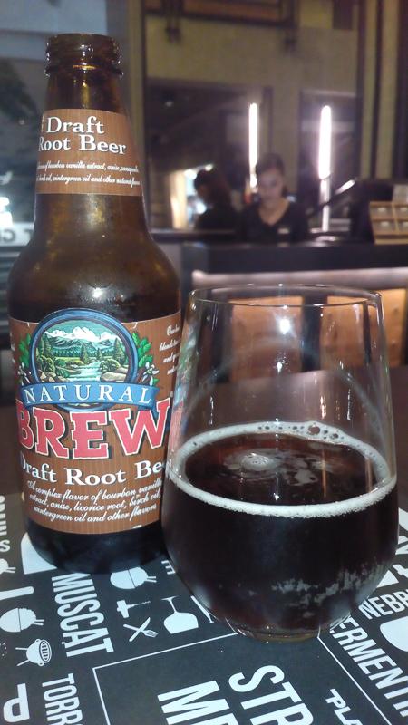 Hugel Wines at Planet Grapes Shangrila-I love this healthy Draft Root Beer
