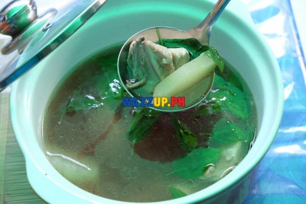 Tinolang Chicken sa Pakwan - St Nicholas Resto Mandaluyong