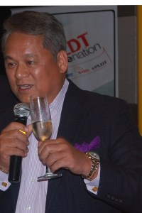PLDT Executive Vice President and ePLDT President and CEO Eric Alberto.