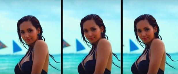 Roxee B oxygen j young music video boracay 3