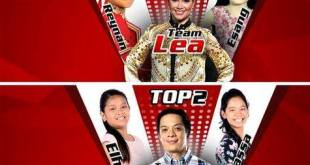The voice kids season team 2 semi finals result with team lea bamboo and team sarah losing