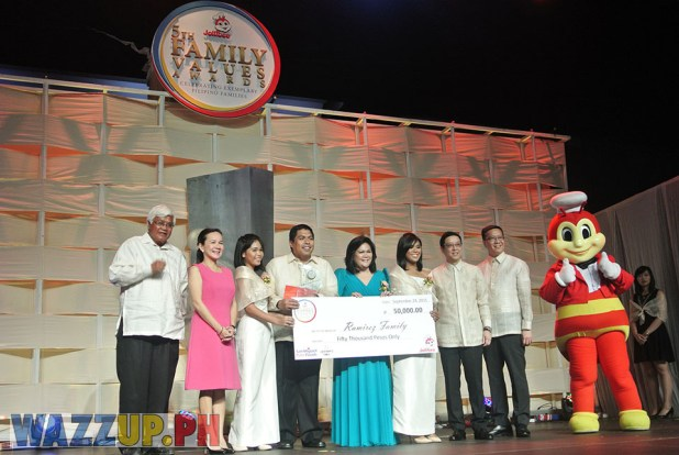 Jolibee 5th Family Values Award Philippines Joseph Tanbuntiong President Blog Blogger Duane Bacon Ramirez Grace Poe