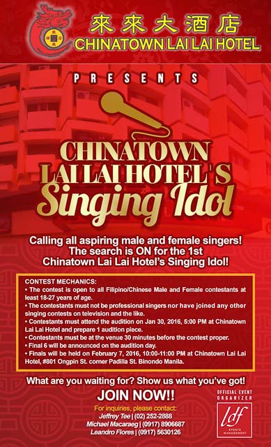 EXPERIENCE THE SPECIAL CELEBRATION OF CHINESE NEW YEAR AT CHINATOWN LAI LAI HOTEL-1