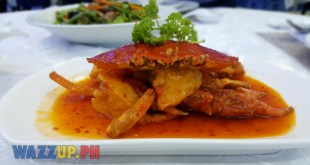 Sauteed Crab with Black Pepper Sauce