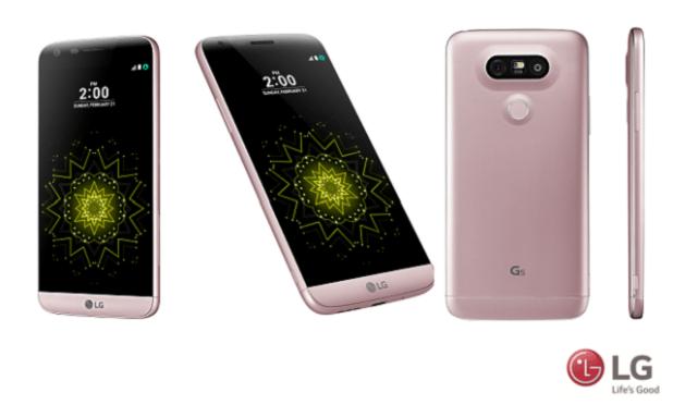 LG G5 Pink