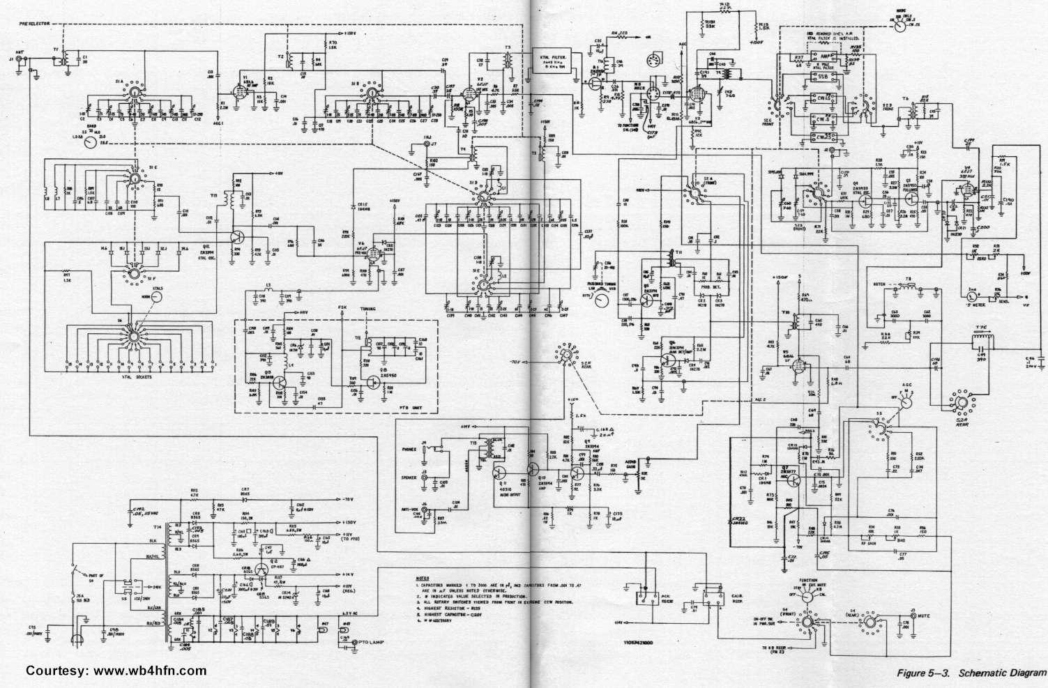 drake r 4c block diagram
