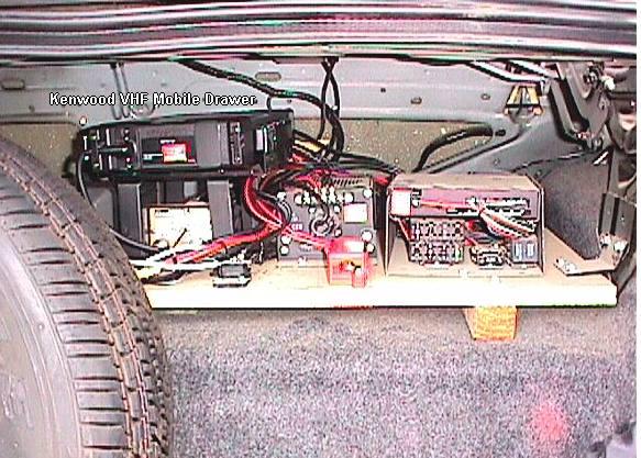 CALIFORNIA HIGHWAY PATROL MOBILE RADIO EQUIPMENT 2001