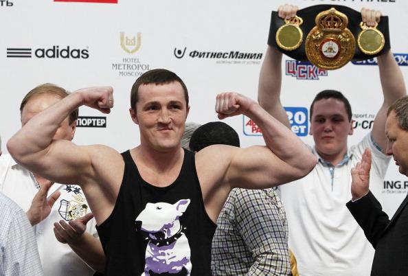Denis Lebedev v Guillermo Jones – Weigh-In