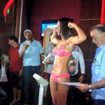 Photos: Ogleidis Suárez - Edith Matthysse weigh-in