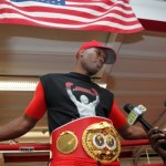 Bernard Hopkins IBF Light Heavyweight World Champion