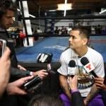 "WBA Welterweight World Champion Marcos ""El Chino"" Maidana media day"