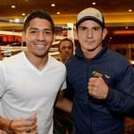 Johan Perez and Mauricio Herrera met in Las Vegas