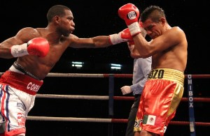 Jezreel Corrales vs Juan Rodriguez