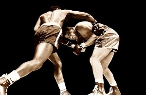 """If Jack Dempsey not the greatest fighter who ever lived,"" said Tunney, ""then Joe Louis is."""