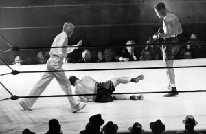 Bob Pastor was no match for arguably the greatest heavyweight of all time. (Getty Images)