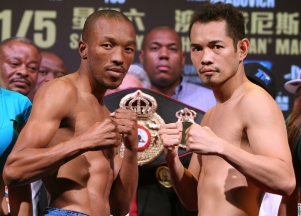 Vetyeka vs Donaire weigh-in