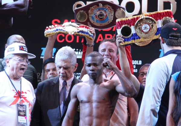 Rigondeaux, Sod Kokietgym make weight