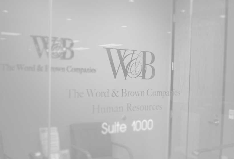 Open Jobs Careers In Orange County The Word  Brown Companies