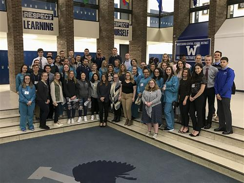 75 High School Students Take Advantage of Another Job Shadow Opportunity