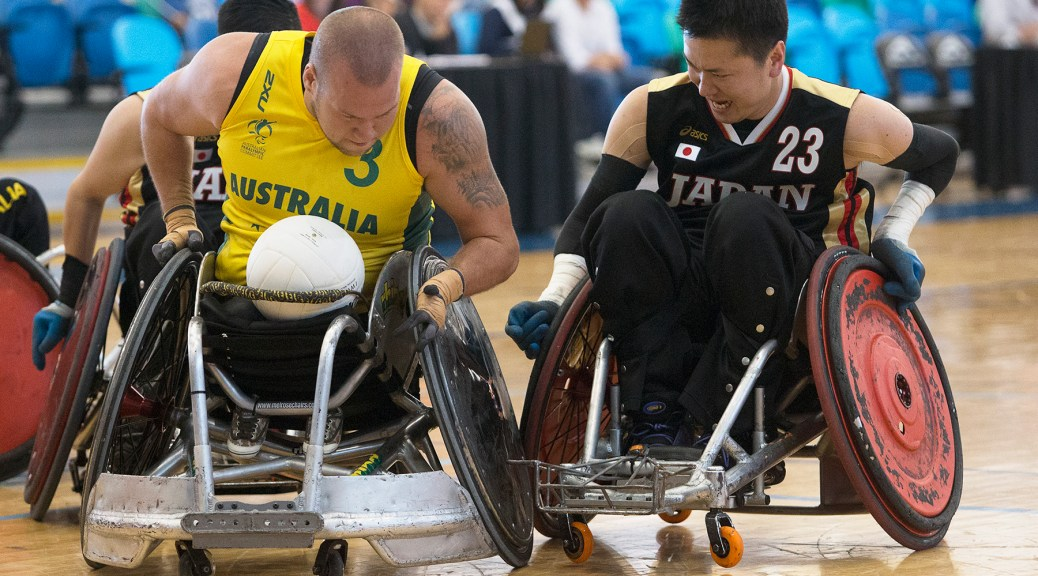 Tomoaki Imai, Ryley Batt, Canada Cup, Wheelchair Rugby