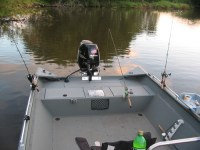 Diy Rod Holder For Jon Boat - Diy (Do It Your Self)